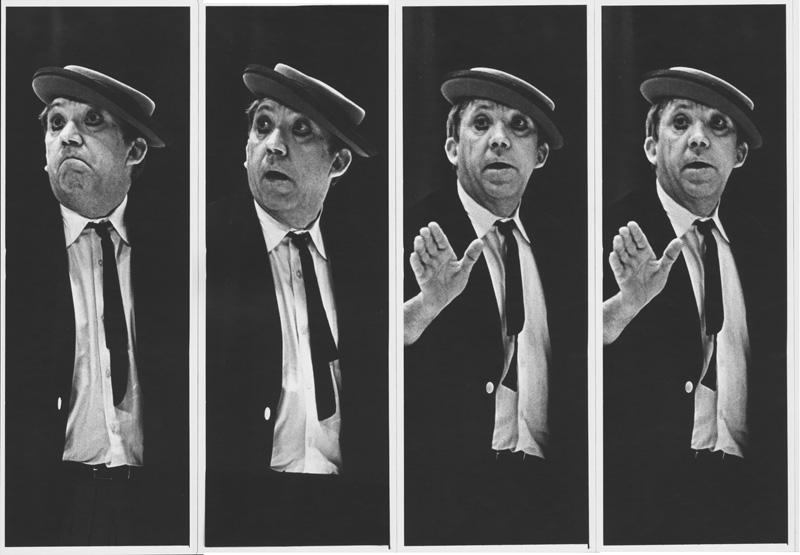 3 Александр Абаза  «На арене Ю. Никулин». Москва. Цирк на Цветном Бульваре, 1974 год.jpg