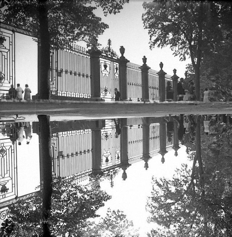 Решетка Летнего сада. Автор Богданов Владимир, 1970-e.jpg