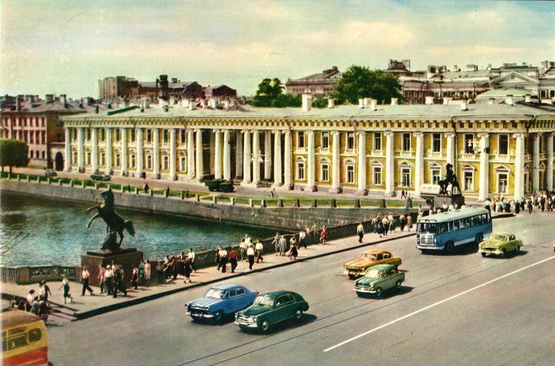 Невский проспект. Аничков мост