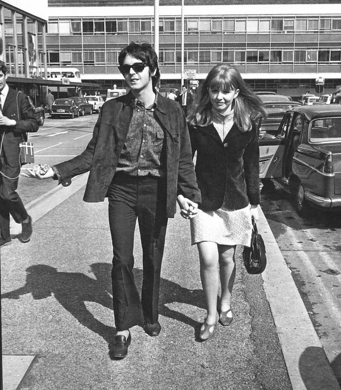 558 Пол Маккартни и Джейн Эшер, 1967.jpg