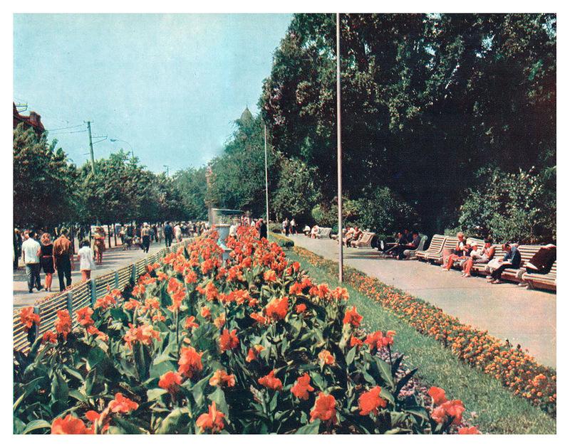 Сквер на улице Дерибасовская