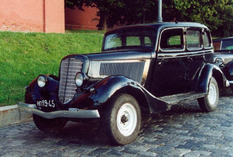 Легковой автомобиль ГАЗ-М1 (1936), СССР.jpg