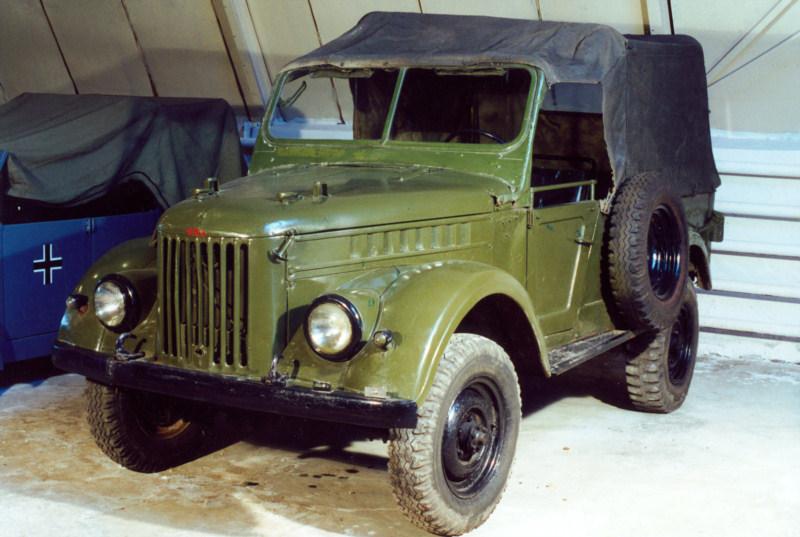 Автомобиль повышенной проходимости ГАЗ-69 (1952), СССР.jpg