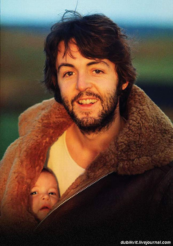 1164 Пол и Мэри Маккартни, Шотландия, 1970год.jpg