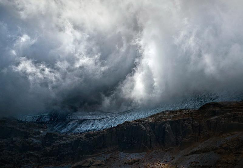 Северная сторона горы Пердидо в испанских Пиренеях. (Maxime Daviron)