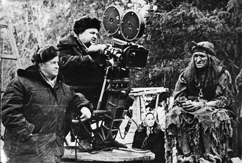 На съемках фильма Морозко, 1964.jpg