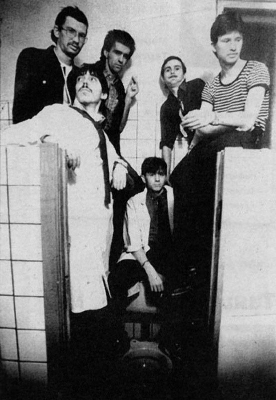 022 «Наутилус» перед самым первым концертом в ДК автомобилистов» , 1983 г.jpg