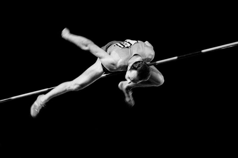 1 Александр Птицын  «Рекордный прыжок Валерия Брумеля». 1963 год.jpg