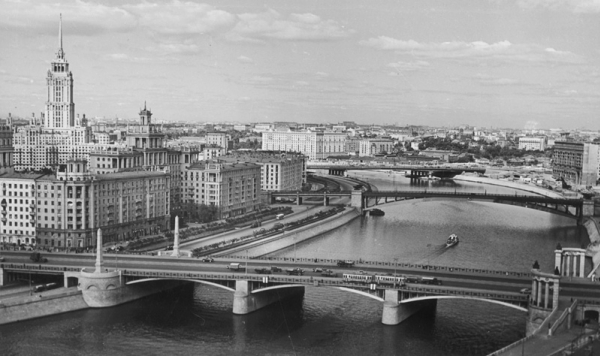 Три моста. Автор Грановский Наум, 1960-e.jpg