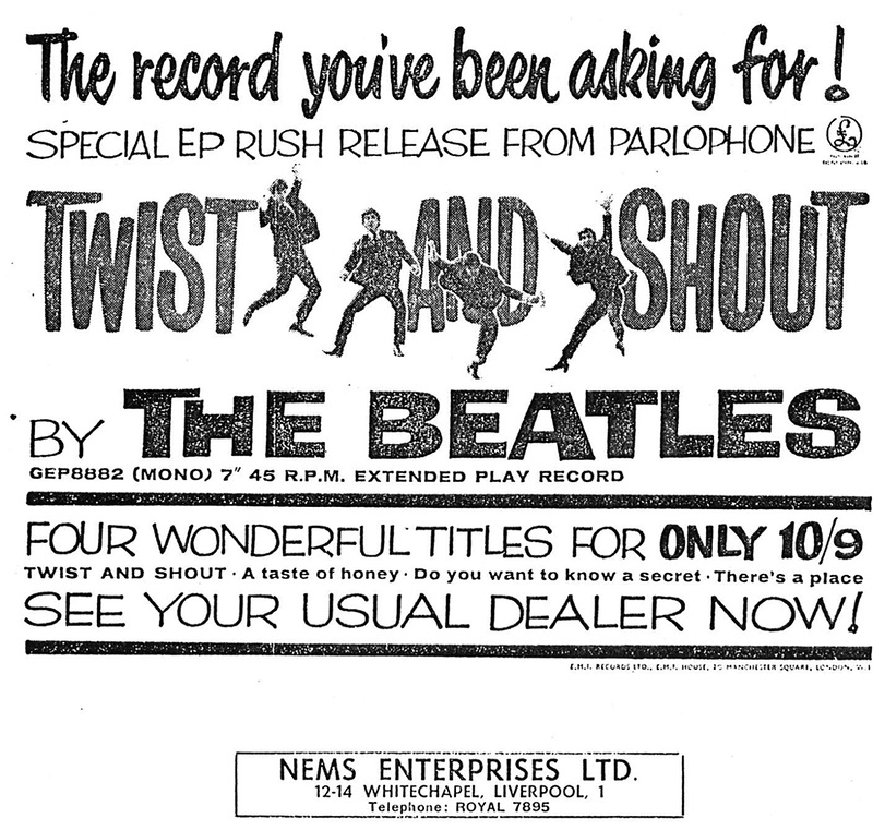 13 The Beatles - NME Advertisement July 12th 1963.jpg