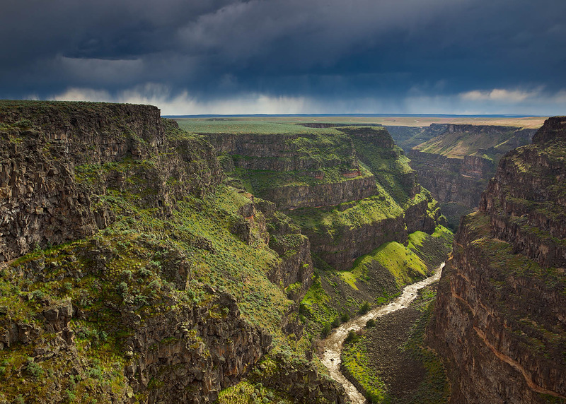 Пустошь рек Бруно-Джарбридж в штате Айдахо. Территория в 156 км охраняется с 2009 года. (Michael Melford)