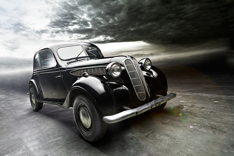 Легковой автомобиль BMW 321 (1938), Германия.jpg