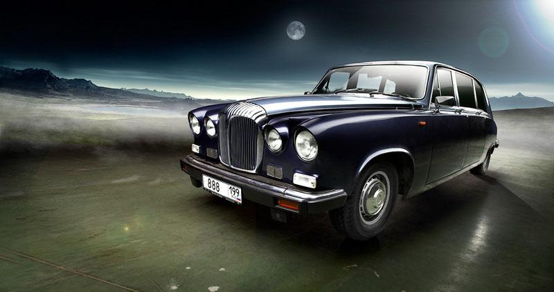 Лимузин Jaguar Daimler DS420 (1987), Великобритания.jpg
