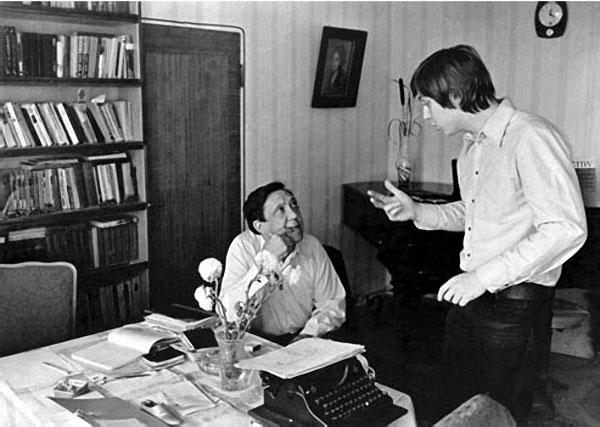 Ю. Никулин с сыном.jpg