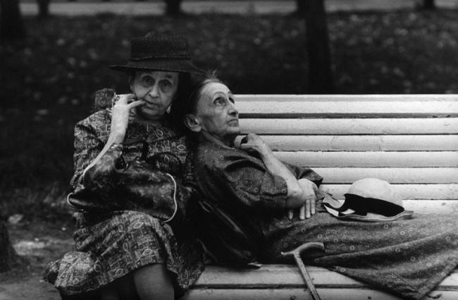 Андрей Князев «Скамейка юности», 1970.png