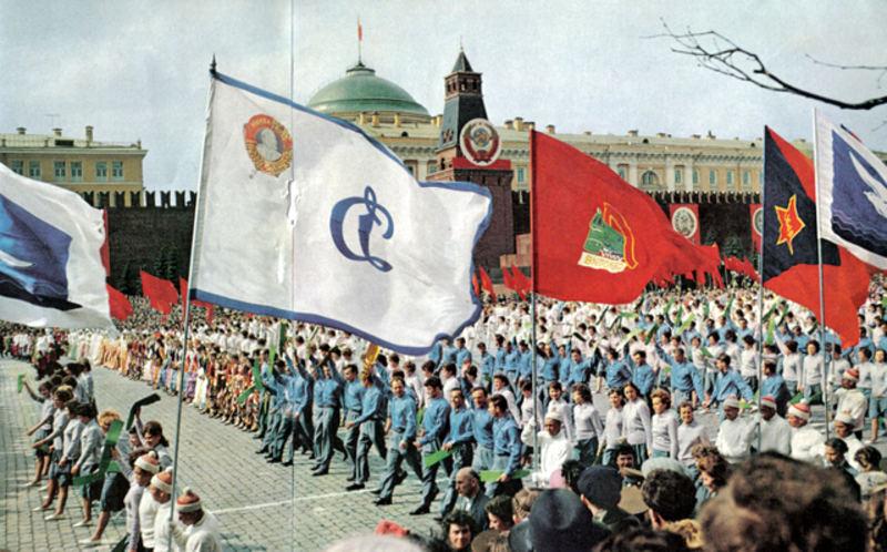 153 Спортсмены на Первомайской демонстрации.jpg