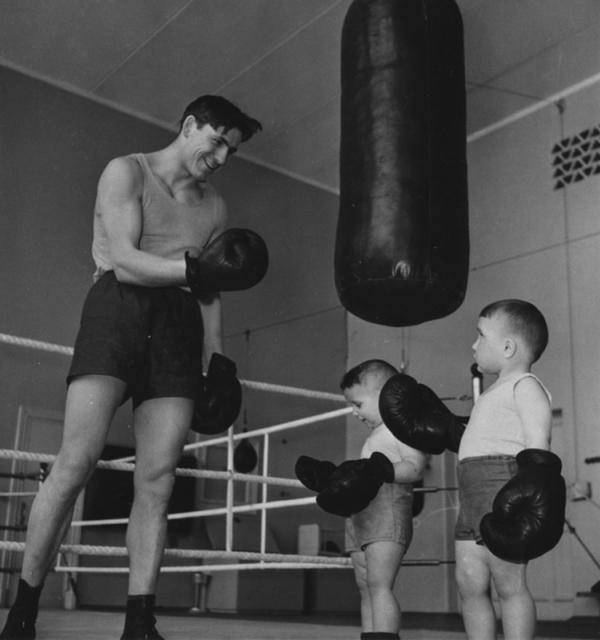 Боксёры. Автор Рюмкин Яков, 1960-e.jpg