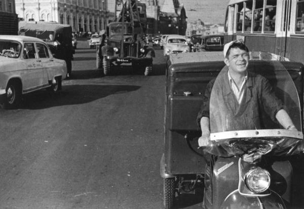 Весна. Обеды на дом. Автор Дубинский Григорий, 1960.jpg