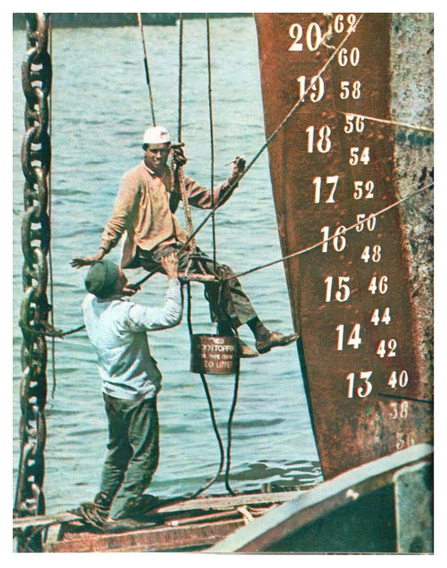 Будни Одесского порта