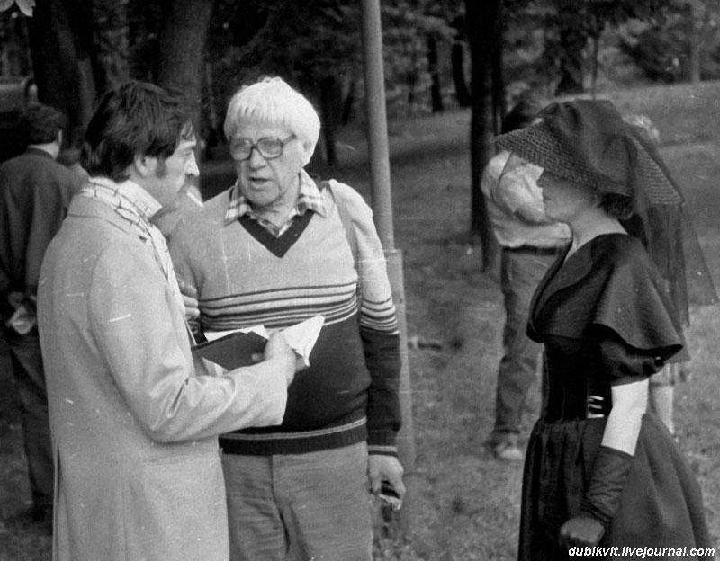 Михаил Боярский, Игорь Владимиров, Елена Соловей.  «Лишний билет», 1982.jpg