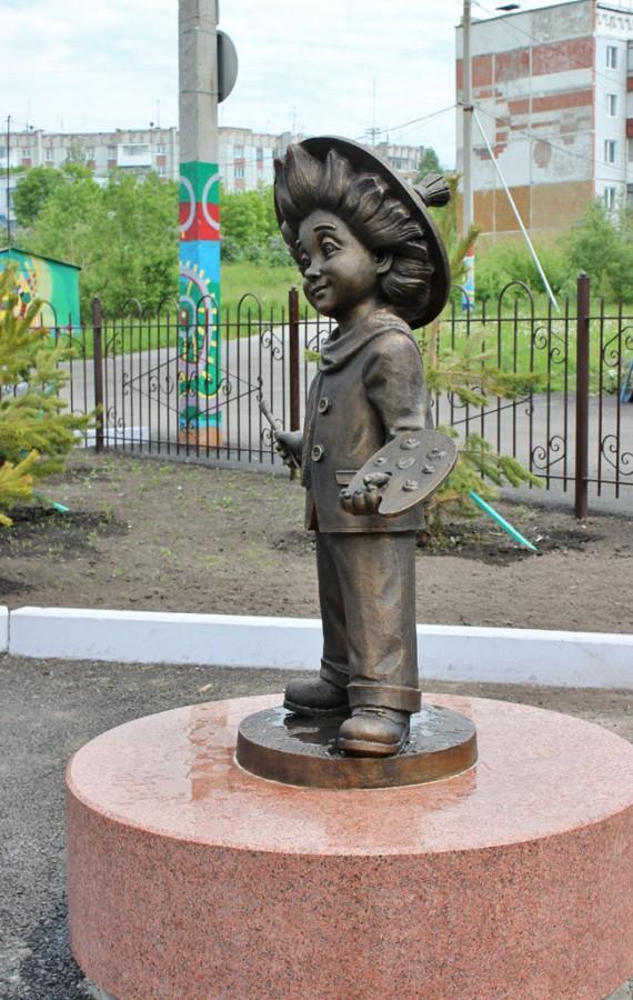 233 памятник Незнайке в Прокопьевске
