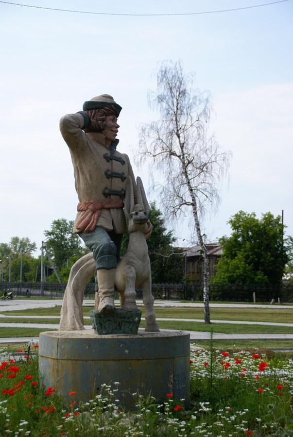 238 памятник коньку-горбунку в Ишиме