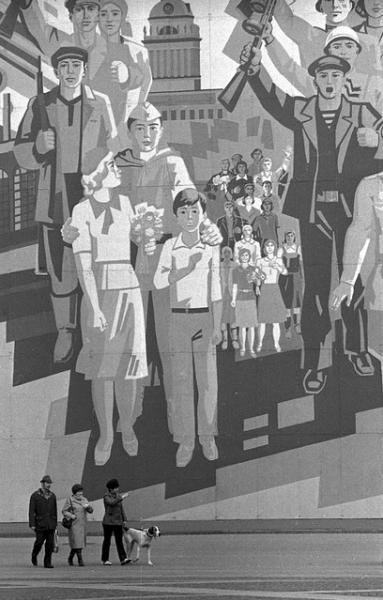 Васильевский остров. Автор Пальмин Игорь, 1980-e.jpg
