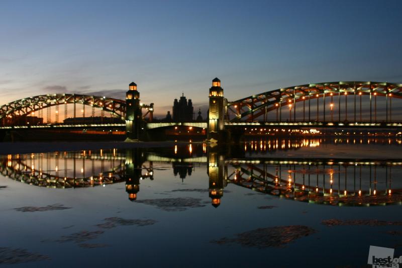 Мост Петра Великого. С-Петербург. Автор Юрий Тагиров.jpg