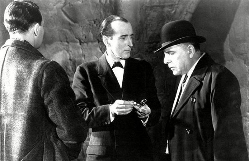 1932 Шерлок Холмс Знак четырех. В роли Холмса Артур Уонтнер.jpg