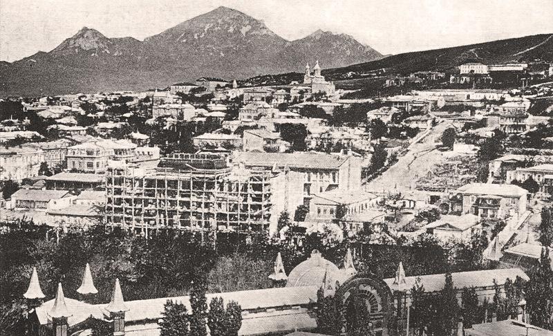 Строительство гостиницы «Бристоль». 1907 г