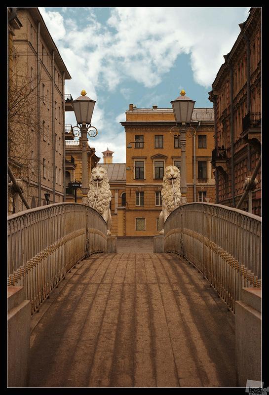 Львиный мост. Санкт-Петербург, автор Екатерина Фёдорова.jpg