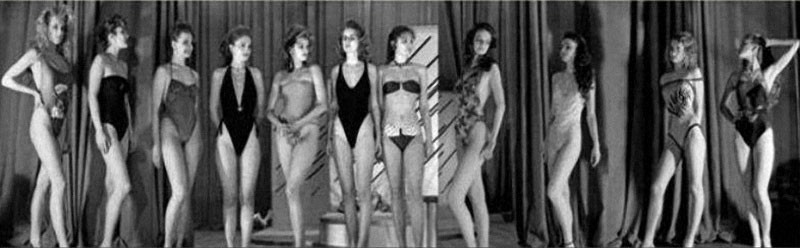 Backstage photos and video of the first beauty contest in the USSR of the contest, beauty, Kalinin, contest, contestants,passed, women, country, Elena, participation, Durneva, organizers, several, organizers, could, show, Peredreeva, only, Marina, selection