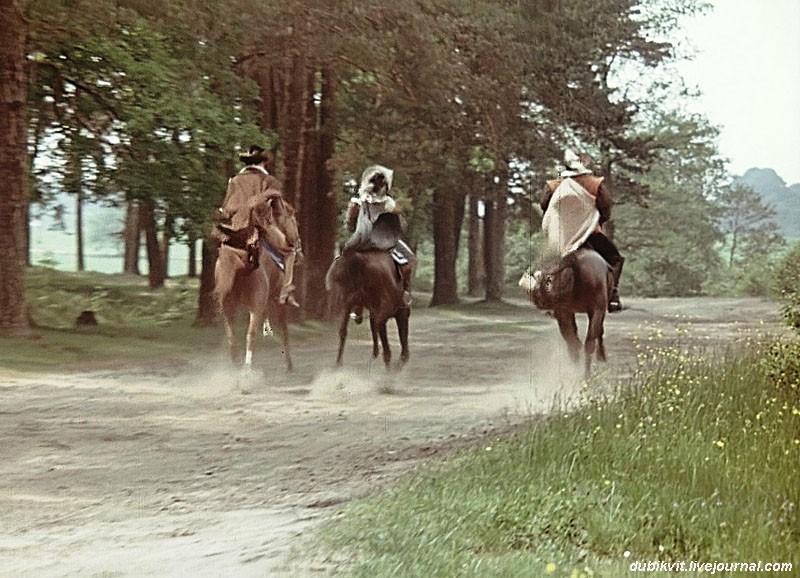Как проходили съёмки «Д'Артаньян и три мушкетёра». Часть 3 мушкетёров, Львов, трюков, Джаркас, проскачки, съёмки, лошади, фильма, лошадь, Брюховичи, легко, личного, повод, Исфана, Лондон, Львова, снять, «Д&039Артаньян, Лариса, гвардейца