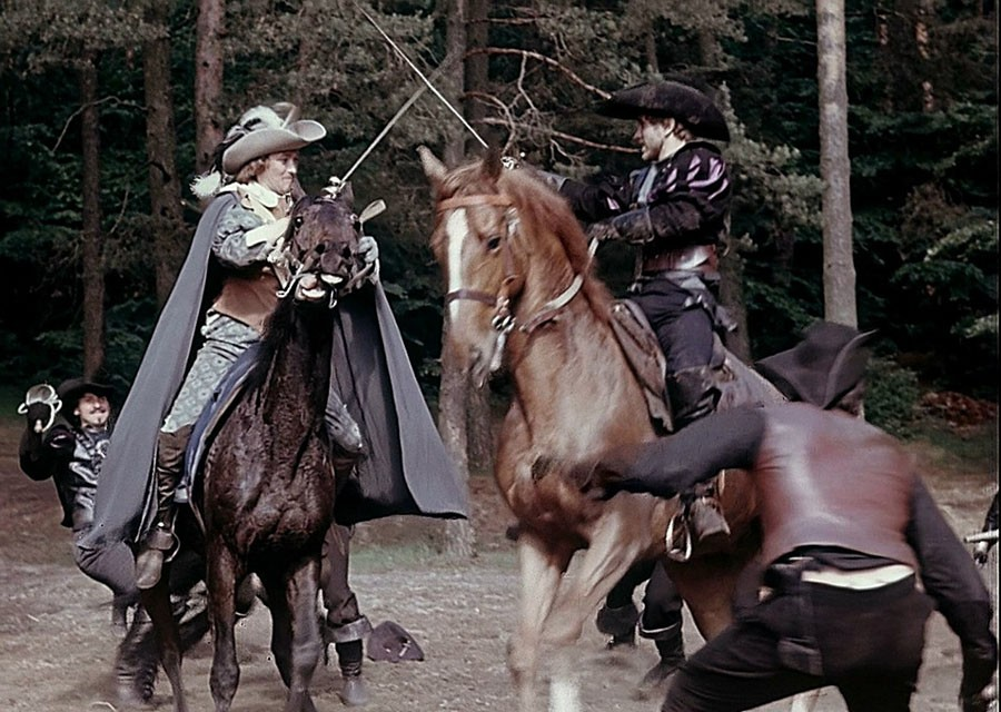 Как проходили съёмки «Д'Артаньян и три мушкетёра». Часть 4
