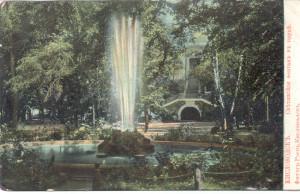 Ресторация и фонтан