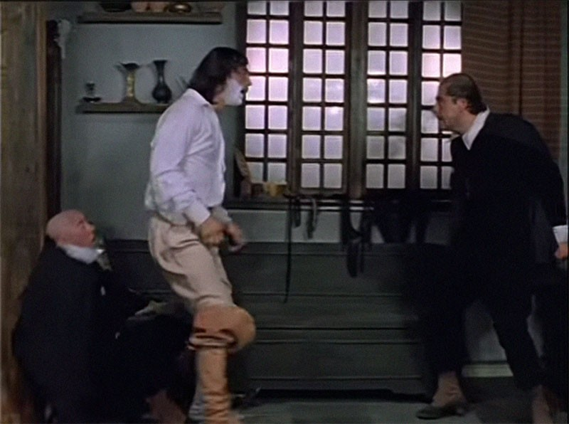 Как проходили съёмки «Д'Артаньян и три мушкетёра». Часть 5 д'Артаньяна, гвардейцев, Портос, Атоса, мушкетёров, голубятне», д'Артаньян, «Красной, гвардейца, Володя, сцену, Арамис, таверны, съёмки, драки, через, мушкетёра», Потом, сцены, фильма