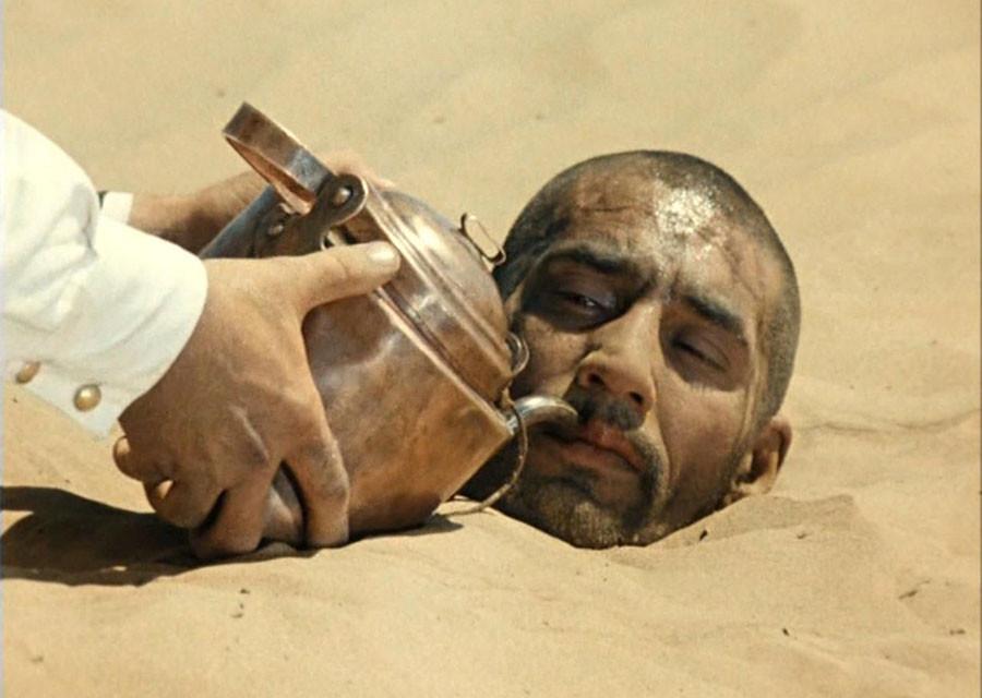 """Саид из """"Белого солнца пустыни"""". Как снимали закопанного в песок Мишулина"""