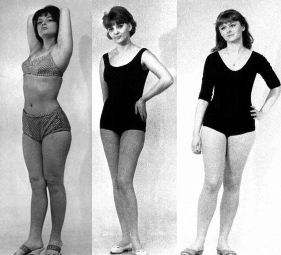 Варлей, Селезнёва, Светличная 3 красавицы советского кино в купальниках советское кино