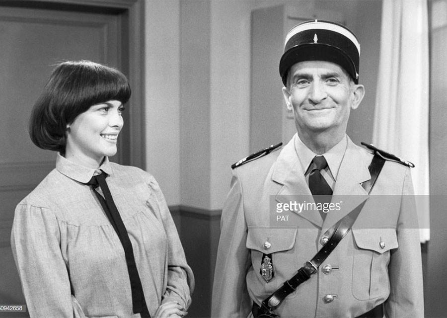 Мирей Матье и жандарм из Сен-Тропе
