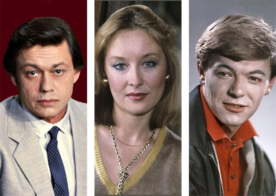 The first movie roles of famous Soviet actors. Part 6. Karachentsov, Udovichenko, Zbruev