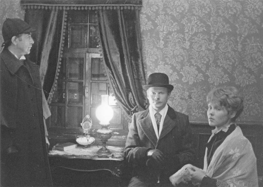 """Где снимали """"Приключения Шерлока Холмса и доктора Ватсона"""". Часть 1. """"Знакомство"""""""