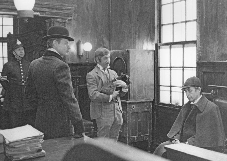 """Где снимали """"Приключения Шерлока Холмса и доктора Ватсона"""". Часть 2. """"Кровавая надпись"""""""