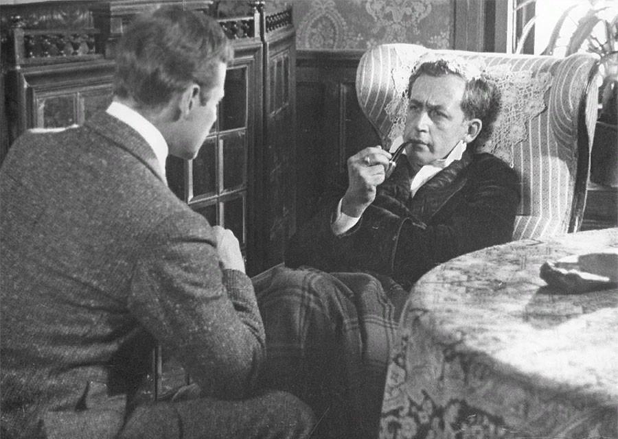 """Где снимали """"Приключения Шерлока Холмса и доктора Ватсона"""". Часть 3. """"Король шантажа"""""""