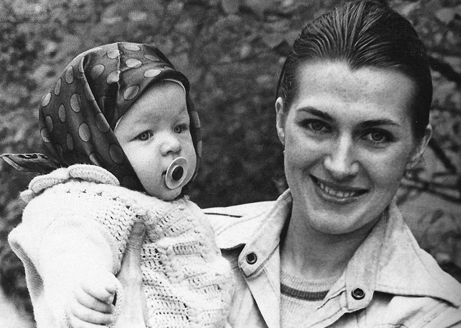Киевлянка Милла Йовович. Советские фото мировой знаменитости