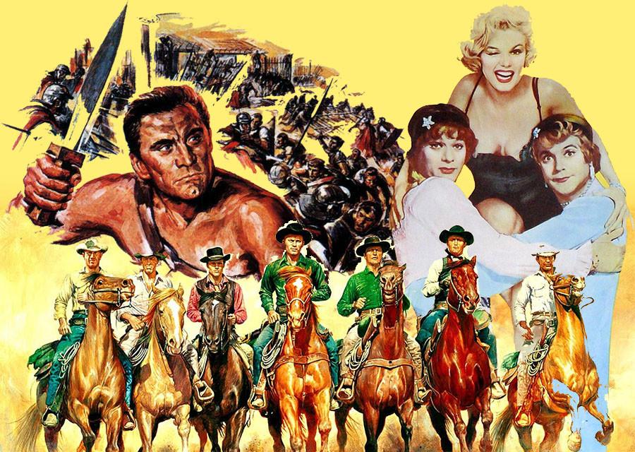 Самые популярные голливудские фильмы в СССР в 60-е