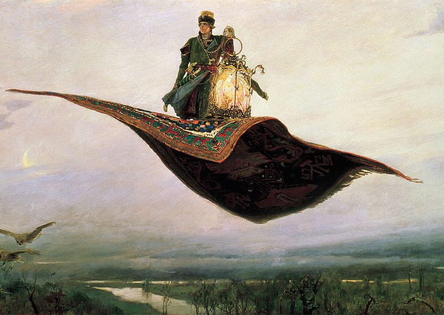 Волшебные вещи из сказок - гаджеты инопланетян?