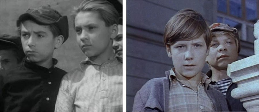 Советские фильмы - двойные экранизации