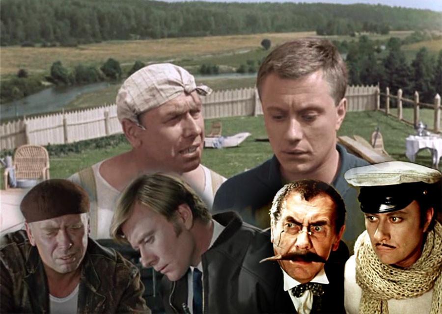 Андрей Миронов и Анатолий Папанов - лучший актёрский дуэт советского кино