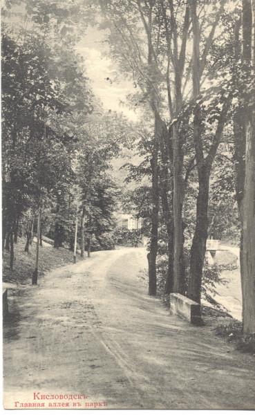 Главная аллея нижнего парка 2