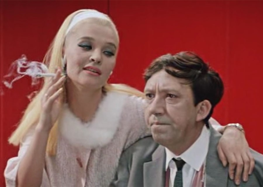 Самая эротичная сцена советского кино с французским прононсом